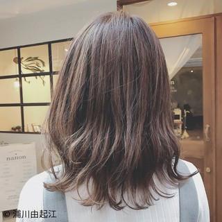 モテ髪 ミディアム 大人かわいい ゆるふわ ヘアスタイルや髪型の写真・画像
