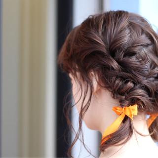 秋 ミディアム 透明感 デート ヘアスタイルや髪型の写真・画像