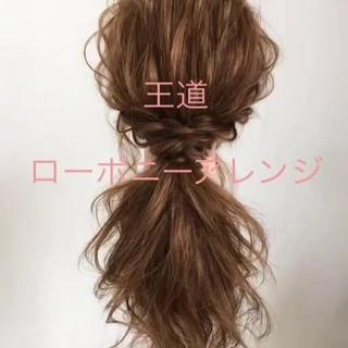 色気 セミロング ヘアアレンジ 結婚式 ヘアスタイルや髪型の写真・画像