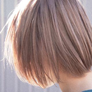 ショートヘア ボブ ハイトーンボブ ショートボブ ヘアスタイルや髪型の写真・画像