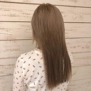 セミロング ガーリー パーマ 簡単ヘアアレンジ ヘアスタイルや髪型の写真・画像