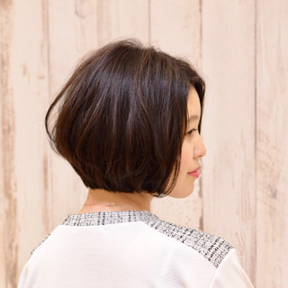 可愛い  ふんわり ワンカール ヘアスタイルや髪型の写真・画像