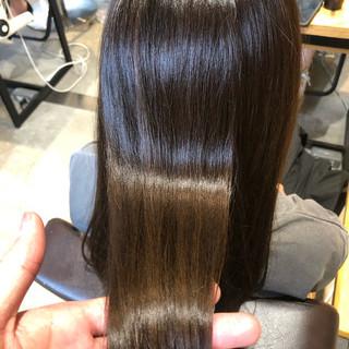 ロング 結婚式 ナチュラル 髪質改善 ヘアスタイルや髪型の写真・画像