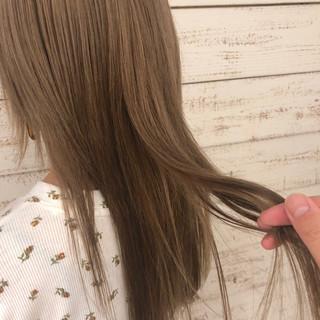 表参道 セミロング かわいい 外国人風 ヘアスタイルや髪型の写真・画像