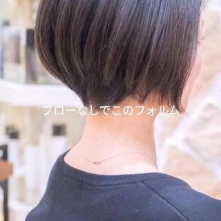 大人かわいい ショートヘア ショートカット 前下がり ヘアスタイルや髪型の写真・画像