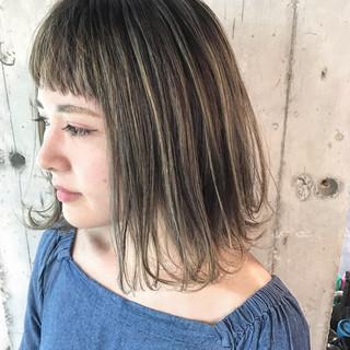 ハイライト 外国人風カラー 外国人風 ローライト ヘアスタイルや髪型の写真・画像 ヘアスタイルや髪型の写真・画像
