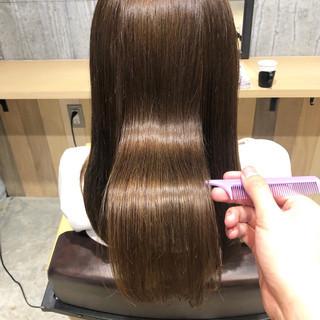 髪質改善トリートメント サイエンスアクア ナチュラル トリートメント ヘアスタイルや髪型の写真・画像