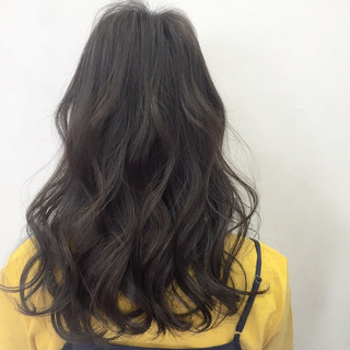 大人かわいい ロング パーマ フェミニン ヘアスタイルや髪型の写真・画像
