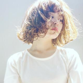 アンニュイ 色気 外ハネ かわいい ヘアスタイルや髪型の写真・画像