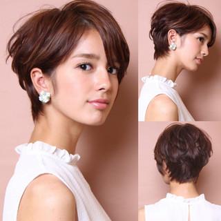 40代 ショート 辺見えみり 吉瀬美智子 ヘアスタイルや髪型の写真・画像