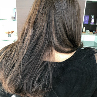 ロング ナチュラル 360度どこからみても綺麗なロングヘア オフィス ヘアスタイルや髪型の写真・画像