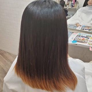 フェミニン ロング 縮毛矯正ストカール 縮毛矯正名古屋市 ヘアスタイルや髪型の写真・画像