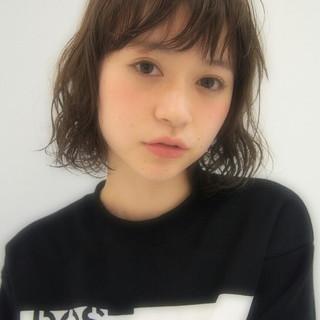 ゆるふわ 大人かわいい フェミニン ボブ ヘアスタイルや髪型の写真・画像