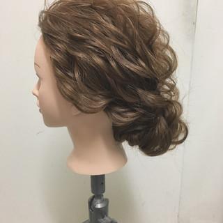 ヘアアレンジ 結婚式 ロング 大人かわいい ヘアスタイルや髪型の写真・画像