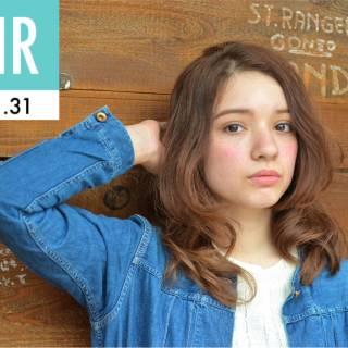 外国人風 ウェットヘア ナチュラル センターパート ヘアスタイルや髪型の写真・画像