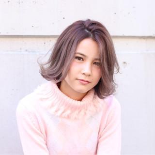 外国人風 アッシュ ガーリー グラデーションカラー ヘアスタイルや髪型の写真・画像