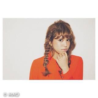 ヘアアレンジ 外国人風 編み込み 抜け感 ヘアスタイルや髪型の写真・画像