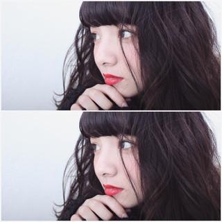 暗髪 ゆるふわ グラデーションカラー ナチュラル ヘアスタイルや髪型の写真・画像 ヘアスタイルや髪型の写真・画像