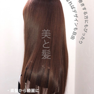 エレガント 美髪 ロング 髪質改善カラー ヘアスタイルや髪型の写真・画像 ヘアスタイルや髪型の写真・画像