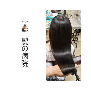 頭皮ケア 美髪 ロング トリートメント ヘアスタイルや髪型の写真・画像