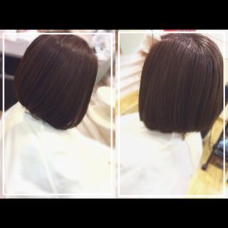 髪質改善 オフィス 社会人の味方 髪質改善カラー ヘアスタイルや髪型の写真・画像