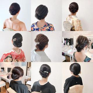 結婚式 和装 上品 着物 ヘアスタイルや髪型の写真・画像 ヘアスタイルや髪型の写真・画像