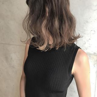 ミディアム 外国人風カラー 秋 エレガント ヘアスタイルや髪型の写真・画像