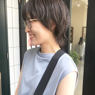 ショート 大人かわいい 似合わせ 色気 ヘアスタイルや髪型の写真・画像