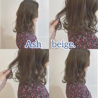 インナーカラー ナチュラル 韓国ヘア 韓国 ヘアスタイルや髪型の写真・画像