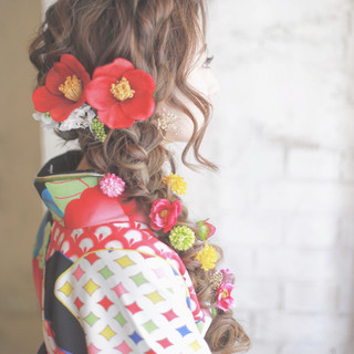 【卒業式の髪型アレンジ集】学生最後の日、とびっきり可愛い袴姿を♡
