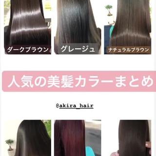 グレージュ 大人かわいい ピンクブラウン 髪質改善カラー ヘアスタイルや髪型の写真・画像