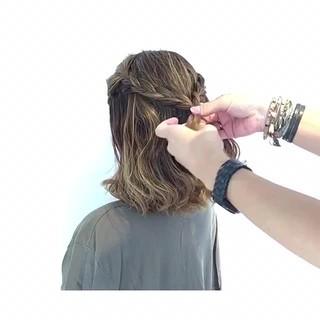 フェミニン 女子会 色気 ヘアアレンジ ヘアスタイルや髪型の写真・画像