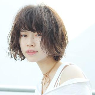 ニュアンス 外国人風 パーマ 色気 ヘアスタイルや髪型の写真・画像