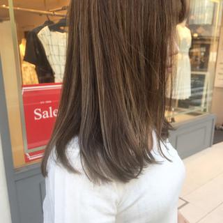 ロング 透明感カラー デート 成人式 ヘアスタイルや髪型の写真・画像