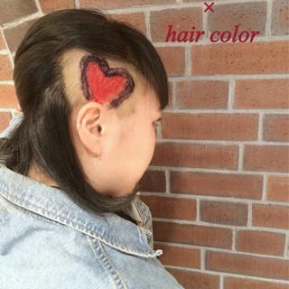 ハイライト 暗髪 グラデーションカラー ヘアアレンジ ヘアスタイルや髪型の写真・画像 ヘアスタイルや髪型の写真・画像