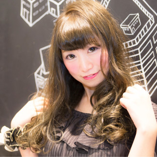 外国人風 ガーリー フェミニン グラデーションカラー ヘアスタイルや髪型の写真・画像