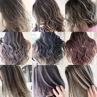 ミルクティーベージュ ナチュラル ベリーピンク ラベンダーピンク ヘアスタイルや髪型の写真・画像