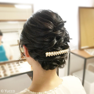 ボブ パーティ エレガント 上品 ヘアスタイルや髪型の写真・画像 ヘアスタイルや髪型の写真・画像