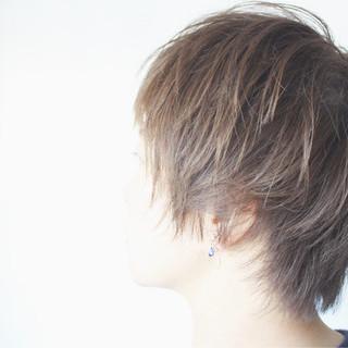ヘアアレンジ ショートボブ ナチュラル ショート ヘアスタイルや髪型の写真・画像 ヘアスタイルや髪型の写真・画像