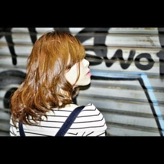 ハイライト 大人女子 渋谷系 前髪あり ヘアスタイルや髪型の写真・画像