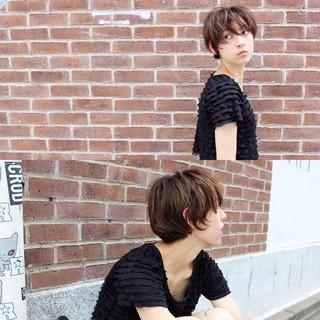 前髪あり くせ毛風 ピュア モード ヘアスタイルや髪型の写真・画像