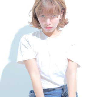 ワイドバング ワンレングス 前髪あり ストリート ヘアスタイルや髪型の写真・画像 ヘアスタイルや髪型の写真・画像