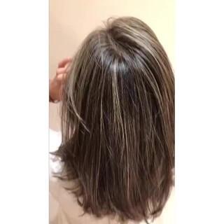 ヘルシー ナチュラル 外国人風カラー 抜け感 ヘアスタイルや髪型の写真・画像