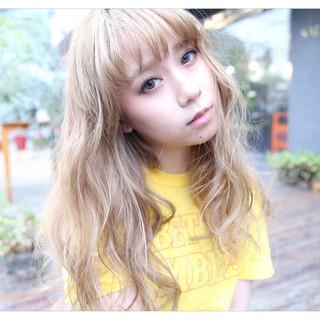 ハイライト 外国人風カラー 外国人風 前髪あり ヘアスタイルや髪型の写真・画像