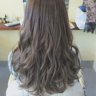 ヘアアレンジ ナチュラル セミロング 外国人風 ヘアスタイルや髪型の写真・画像 ヘアスタイルや髪型の写真・画像