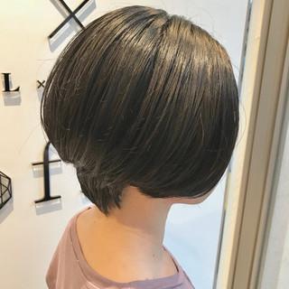 ショート 上品 ボブ エレガント ヘアスタイルや髪型の写真・画像 ヘアスタイルや髪型の写真・画像