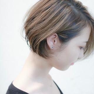 ハイライト ガーリー ローライト 似合わせ ヘアスタイルや髪型の写真・画像