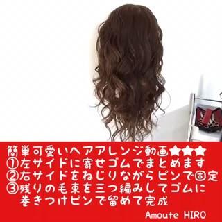 上品 簡単ヘアアレンジ ショート エレガント ヘアスタイルや髪型の写真・画像