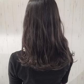 暗髪 透明感 ナチュラル ロング ヘアスタイルや髪型の写真・画像 ヘアスタイルや髪型の写真・画像