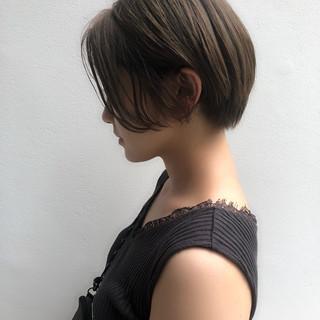 ナチュラル ショート ミニボブ ショートボブ ヘアスタイルや髪型の写真・画像